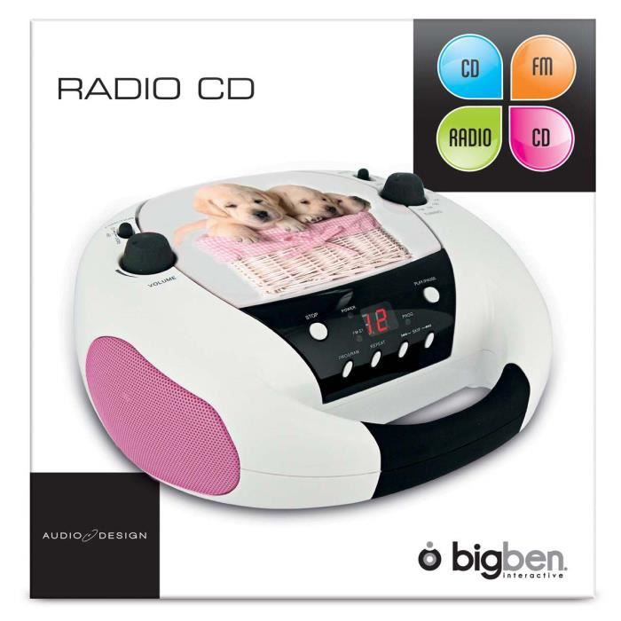 radio cd usb enfant achat vente radio cd usb enfant pas cher cdiscount. Black Bedroom Furniture Sets. Home Design Ideas