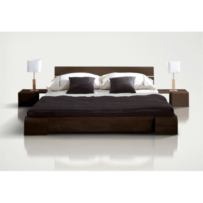 lit 2 places 140x190 tokyo bas weng achat vente. Black Bedroom Furniture Sets. Home Design Ideas