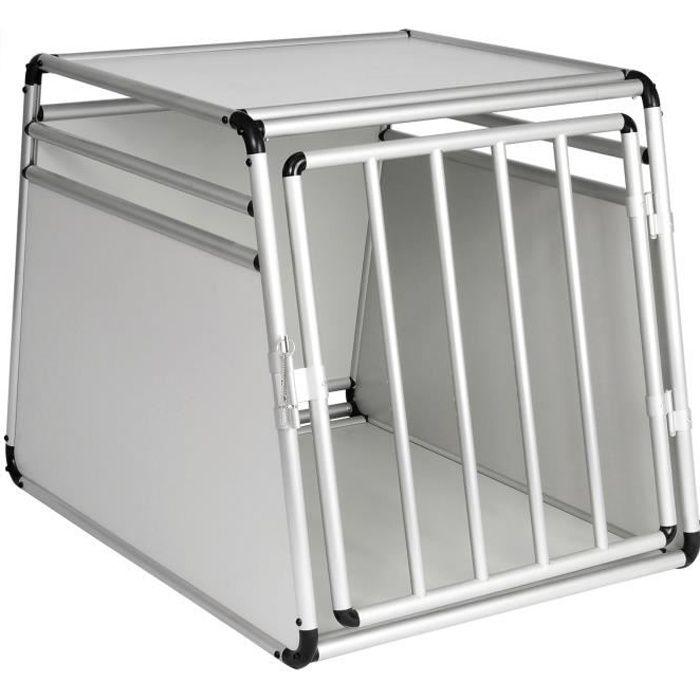 CAGE Cage de transport pour chien en aluminium, Boîte d