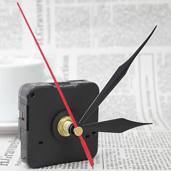choix des mains Horloge Quartz Pendule de remplacement mouvement kit de bricolage