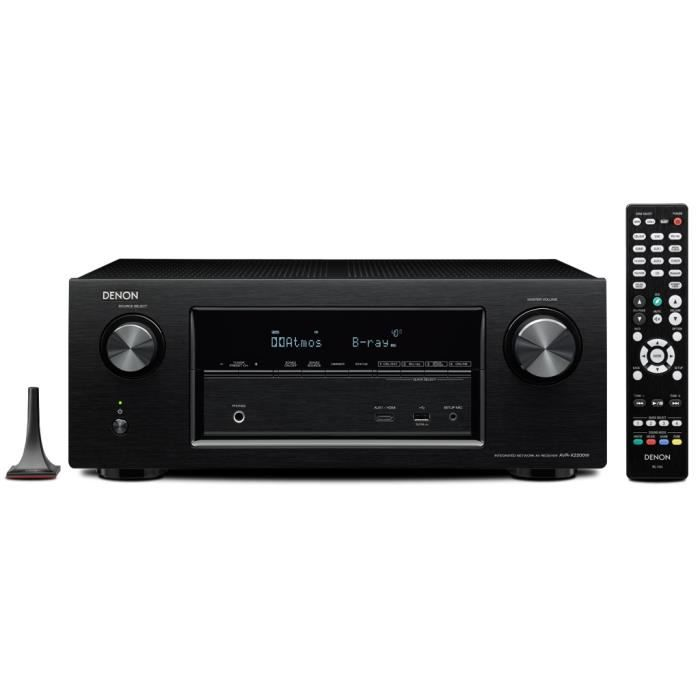 denon avr x2200 ampli wifi bluetooth ethernet amplificateur hifi avis et prix pas. Black Bedroom Furniture Sets. Home Design Ideas