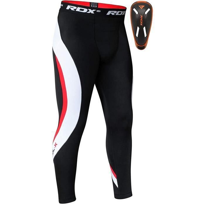 RDX Pantalon de Compression Tights Running Cale/çon Collant Sport Triathlon