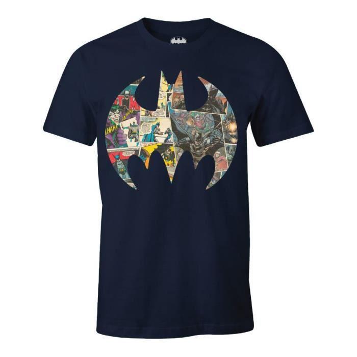 T-SHIRT T-shirt Batman DC Comics - Bat Logo 80th Anniversa