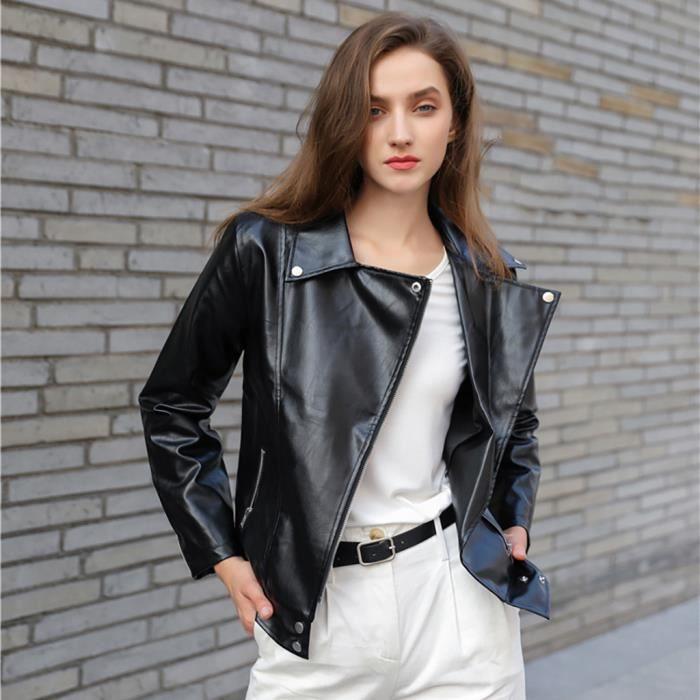Hiver chaud femmes manteau de short en cuir