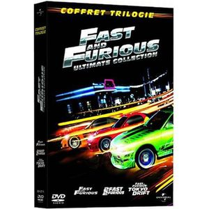 DVD FILM DVD Coffret trilogie fast and furious : fast an...