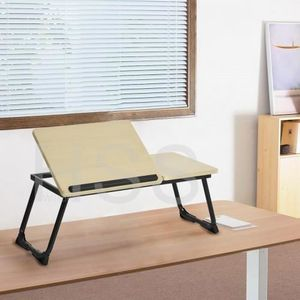 MEUBLE INFORMATIQUE Support Table de Lit pour Ordinateur Portable Incl