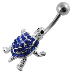 CHAINE DE TAILLE - CHAINE D'EPAULE Chaine De Taille PVD39 Pierreries mobile Tortue Ar