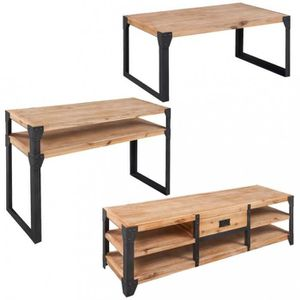 TABLE BASSE ICAVERNE collection Ensembles de meubles de salon-