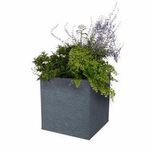 JARDINIÈRE - POT FLEUR  Bac pour fleur carré Graphit intérieur extérieur b