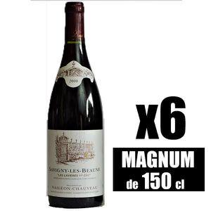 VIN ROUGE X6 Savigny-Les-Beaunes 1er Cru
