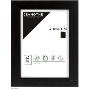 CADRE PHOTO Cadre photo Mat noir 40x50 cm - Ceanothe, marque f