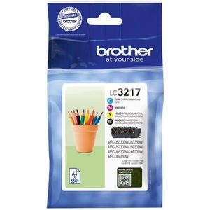 CARTOUCHE IMPRIMANTE Brother LC3217 Value Pack Pack de 4 noir, jaune, c