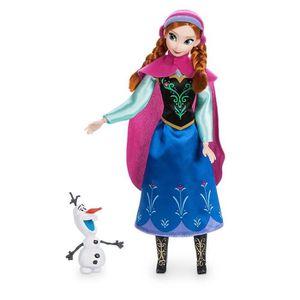 POUPÉE Poupee DISNEY Anna Classique Doll Avec Olaf Figure