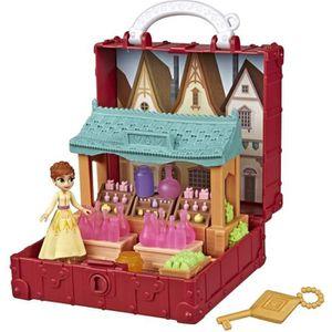 FIGURINE - PERSONNAGE La Reine des Neiges 2 - Mini coffret boutique d'An