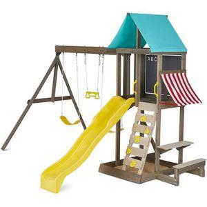 STATION DE JEUX KIDKRAFT - Aire de jeux en bois Newport