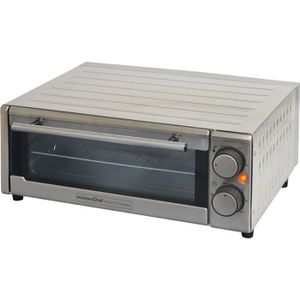 MINI-FOUR - RÔTISSOIRE KITCHEN CHEF GP-15AL-G - Four à pizza - 1300 W - I