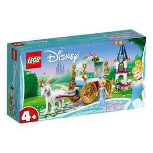 ASSEMBLAGE CONSTRUCTION LEGO® 4+ Disney Princess™ 41159 Le Carrosse de Cen