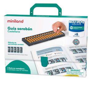 JEU D'APPRENTISSAGE Miniland 95084 Set Guide d'Apprentissage pour soro