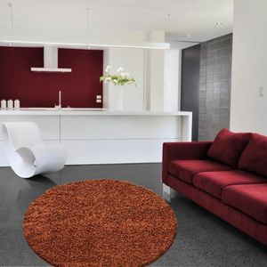 tapis shaggy orange achat vente tapis shaggy orange pas cher cdiscount. Black Bedroom Furniture Sets. Home Design Ideas