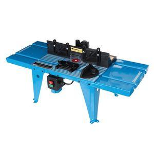 DÉFONCEUSE Table de défonceuse avec rapporteur 850 x 335 mm