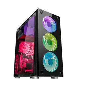 BOITIER PC  NEUFU Micro ATX ITX Ordinateur Boîtier USB Gaming