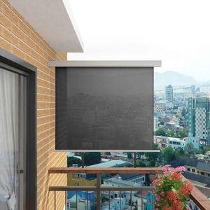 AUVENT - STORE Auvent latéral de balcon multifonctionnel 150 x 20
