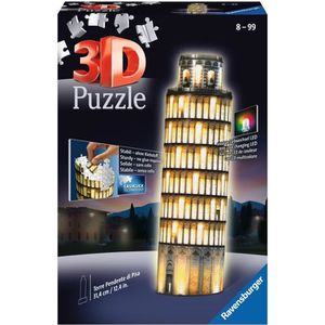 PUZZLE RAVENSBURGER Puzzle 3D Tour De Pise Night Edition