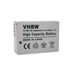 BATTERIE APPAREIL PHOTO vhbw Li-Ion batterie 700mAh pour Canon Powershot S