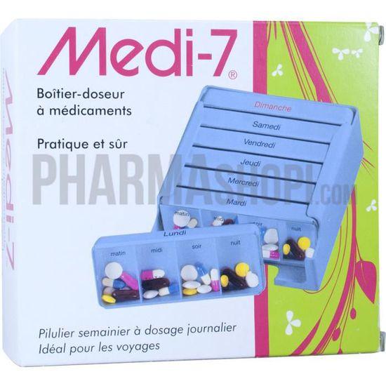Pilulier journalier MEDI-7 Trio