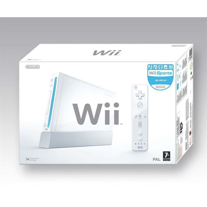 CONSOLE WII CONSOLE Wii PACK SPORTS
