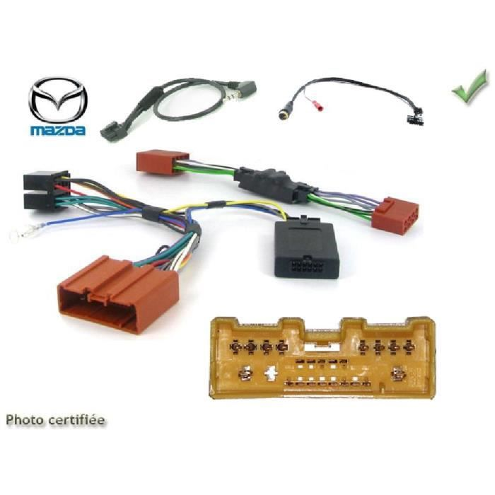 Interface Cde au Volant Mazda 3/ MX-5 05-15 Sans ampli Pioneer/ Sony - ADNAuto - ADN-CAV