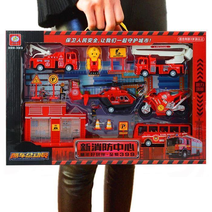 V399K-2 Voiture jouet pour enfants 1:64 pull back couleur boîte cadeau d'anniversaire pour garçons 2-8 ans