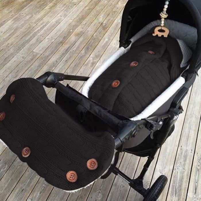 Soins bébéSac de couchage à langer pour bébé, sac de couchage mignon, poussette Wrap + Glovers YXP90905641BK_YOU