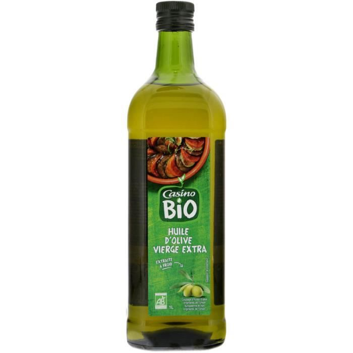 CASINO Huile d'olive vierge extra - Bio - 1 L