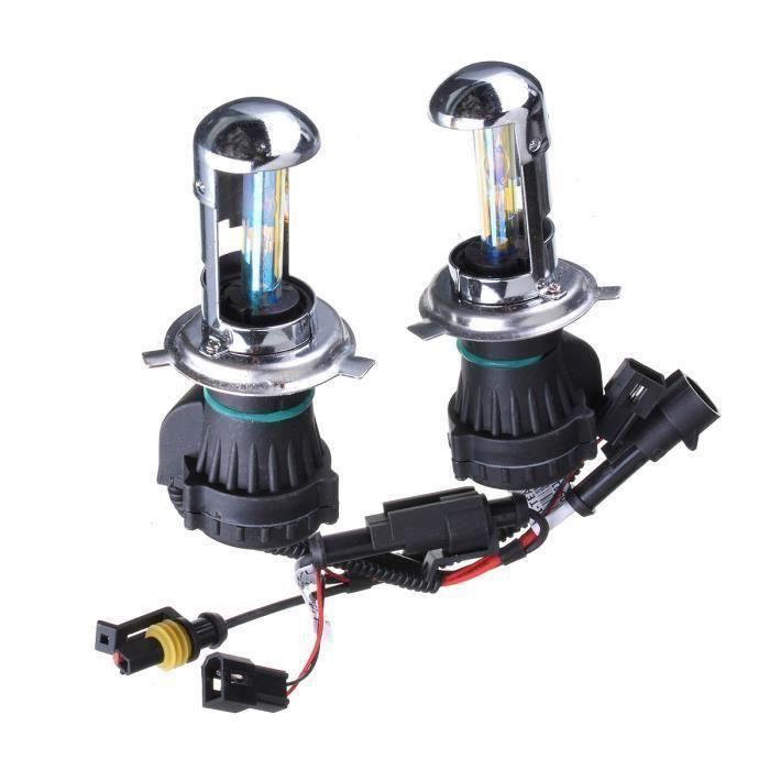 LED Ampoules 55W - H4 H - L - 5000K H4 H - L 2X H4 - H13 - 9004-9007 35W - 55W HID Bi-Xenon Salut - Lo à double faisceau Kit Sh14382