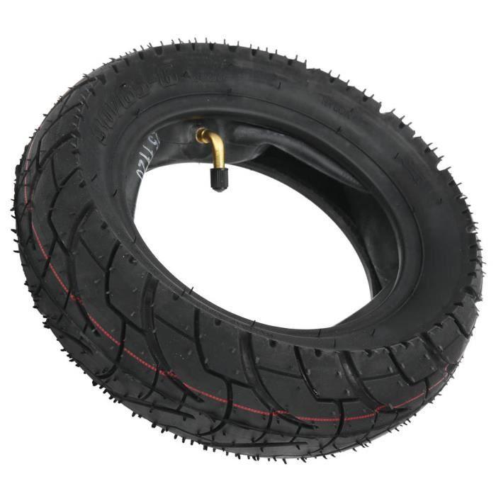 EBTOOLS Remplacement des pneus Pneu et Chambre à Air de Scooter Électrique 80/65-6 Pneu en Caoutchouc Gonflable Antidérapant