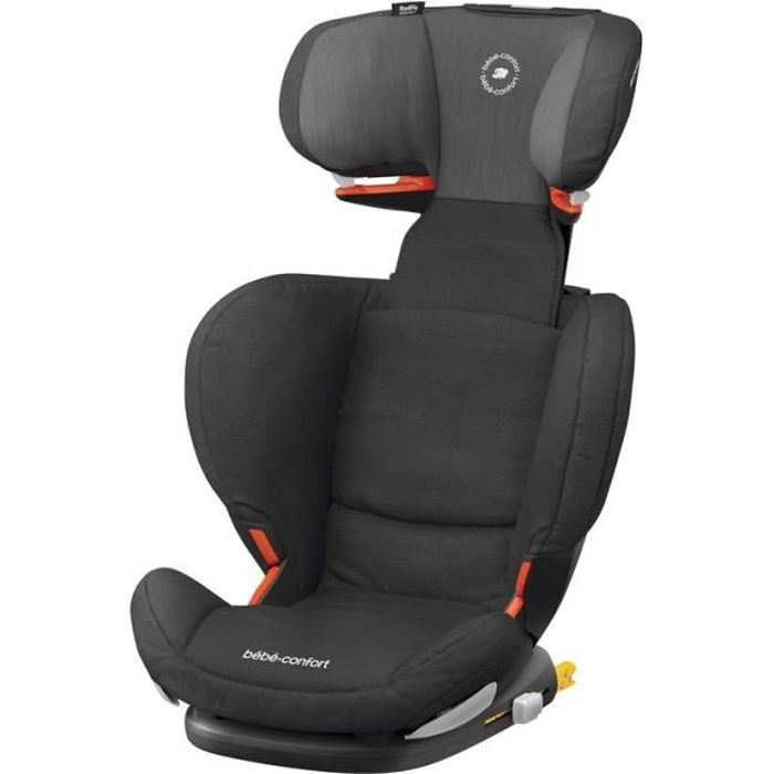 BEBE CONFORT Siège auto Rodifix Air Protect, Groupe 2/3, de 3.5 ans à 10 ans, Frequency Black