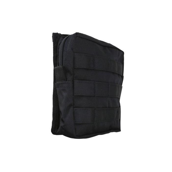 Pochette utilitaire MOLLE moyenne noir - Kombat Tactical