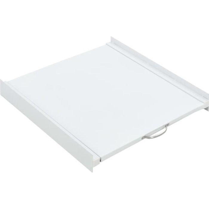 KIT DE SUPERPOSITION -Kit d'empilage avec étagère coulissante pour la machine à laver