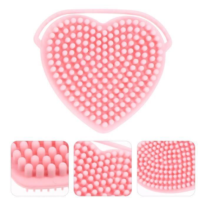 5pcs brosses chips de chics shampooings massage pinceaux accessoires de gommage corps - exfoliant corps corps visage