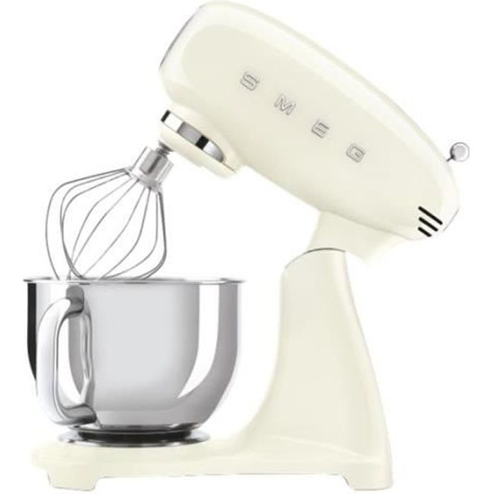 Smeg 50's Style SMF03CREU Robot pâtissier 800 Watt crème