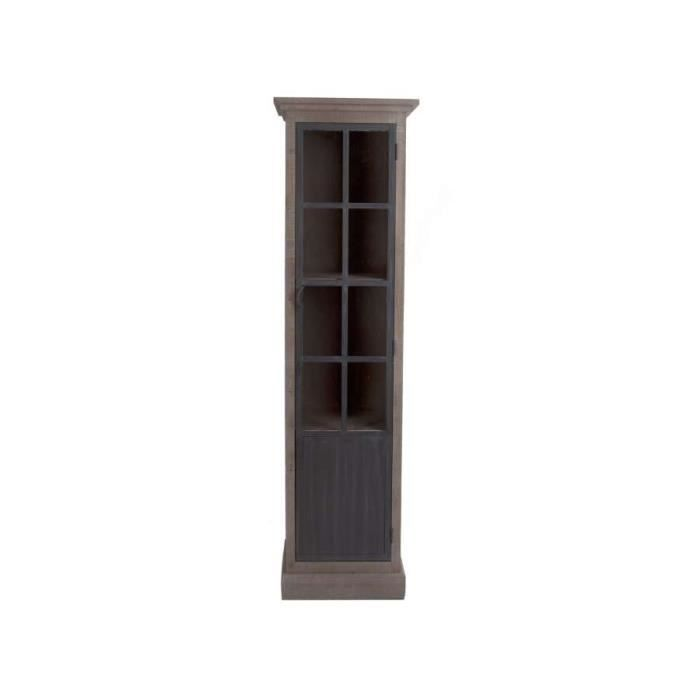 meuble vitrine colonne m tal et bois fa on indu achat vente l ments colonne meuble. Black Bedroom Furniture Sets. Home Design Ideas