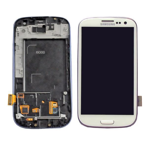 ecran lcd tactile chassis samsung galaxy s3 i9300 achat vente pas cher. Black Bedroom Furniture Sets. Home Design Ideas