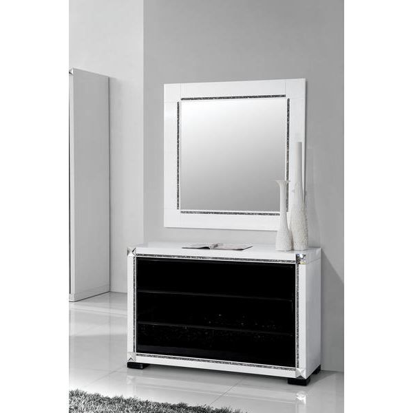 miroir noir et blanc maison design. Black Bedroom Furniture Sets. Home Design Ideas