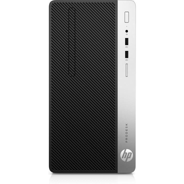 UNITÉ CENTRALE + ÉCRAN HP ProDesk 400 G5, 3,2 GHz, Intel® Core™ i7 de 8em