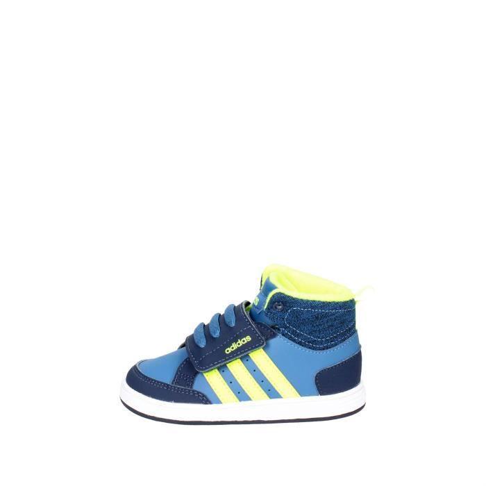 Adidas Sneakers Garçon Bleu/Jaune, 26 Bleu/jaune - Cdiscount ...