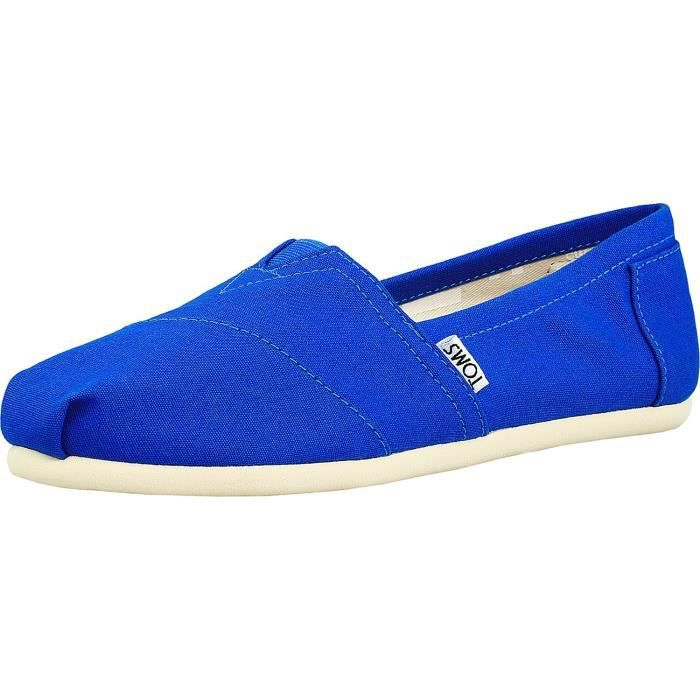 Toms Classics Canvas Slip-on Chaussures AB6MY Taille-39 EJ0M5rh