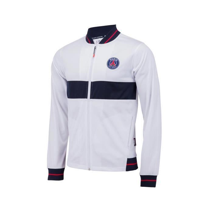 50% off amazon pick up Veste PSG Fan Blanc