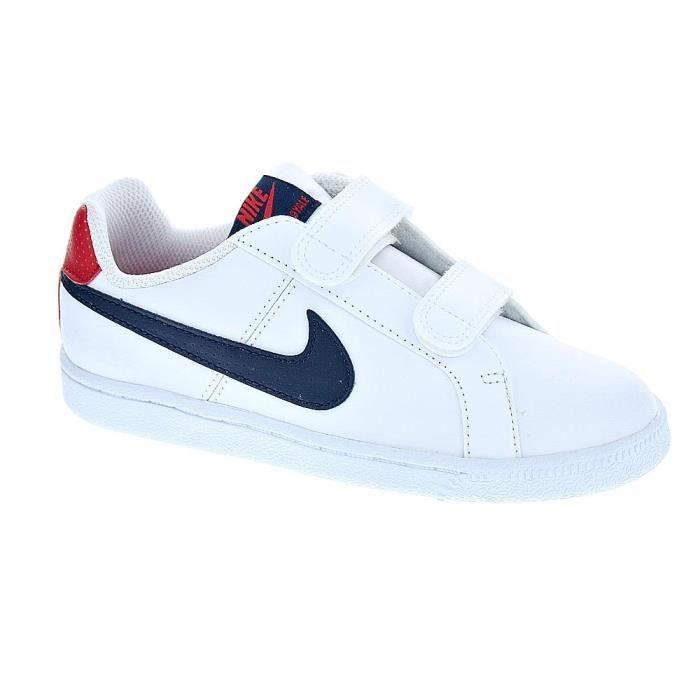 BASKET Baskets - Nike Court Royale  Garçon  Blanc