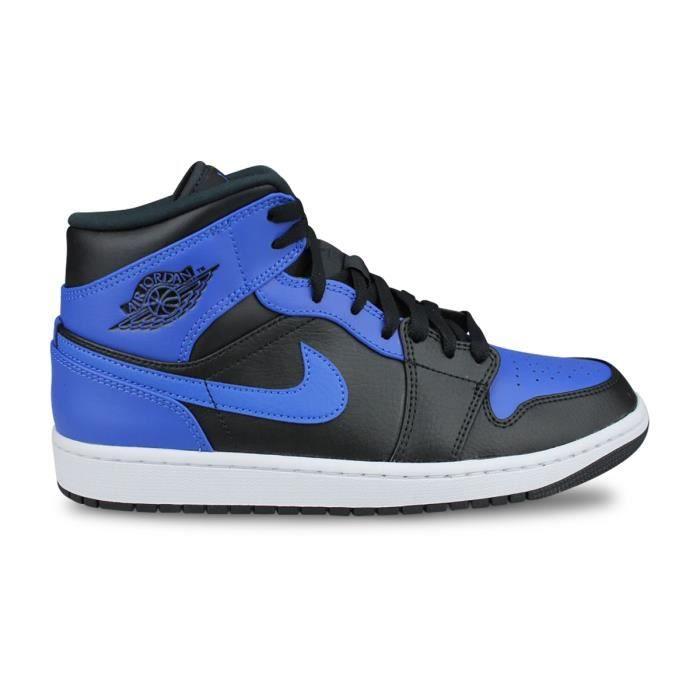 Basket Air Jordan 1 Mid Noir 554724-077